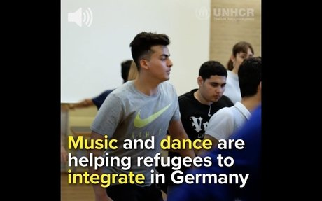 This is how music and dance are helping refugees integrate in Germany ENG