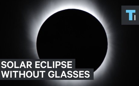 How to watch the solar eclipse if you don't have special glasses