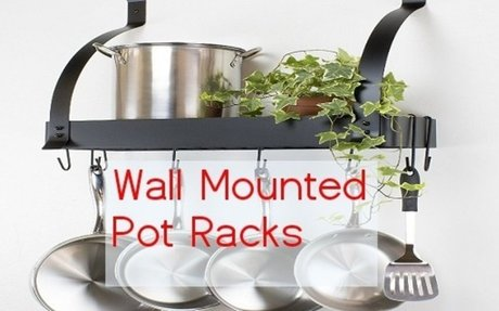 Best Wall Mounted Pot Rack with Shelf - Reviews - Best Wall Mounted Products