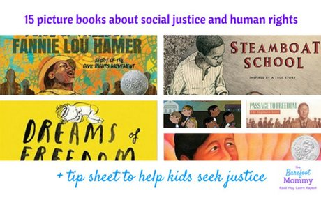 15 Picture Books about Social Justice and Human Rights - The Barefoot Mommy