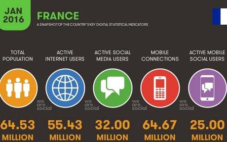 Les usages de l'internet en France, en 2016 et en chiffres - Teleperformance Academy - Le