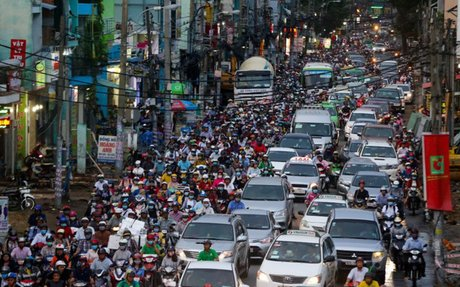 15 million people being drowned out by noise pollution in Vietnam: study - VnExpress Inter