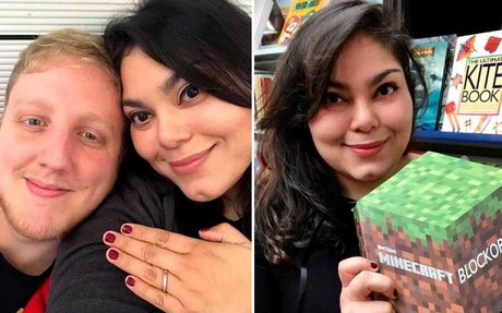 Brit proposes to online girlfriend he's met THREE times who lives 5,000 miles away