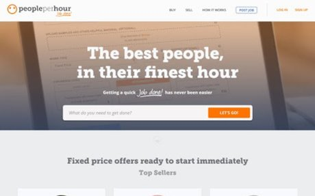 Get any project done on PeoplePerHour,the #1 freelancing community