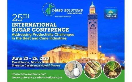 Carbo Solutions 25th International Sugar Conference, Casablanca, 23 - 26 June 2020