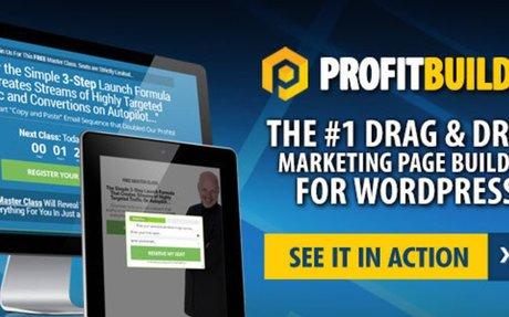 ProfitBuilder 2.0 Best Marketing Page Builder