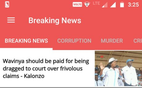 KENYA - Breaking News - Latest News Free App - Android Apps on Google Play