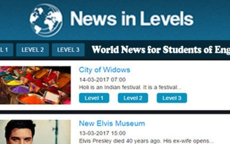 News in Levels « World News for Students of English
