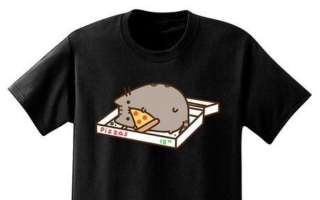 Pusheen Print T-shirt