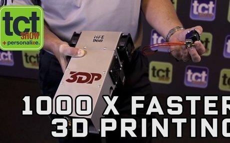 3D Platform speeds up large format 3D printing