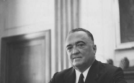 6. J. Edgar Hoover, founder/director of the Federal Bureau of Investigation (FBI)