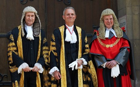 Lord Chancellor swearing-in speech