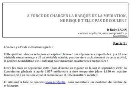 BELGIQUE : «A FORCE DE CHARGERLABARQUE DE LAMEDIATION, NERISQUET'ELLEPASDECOULER