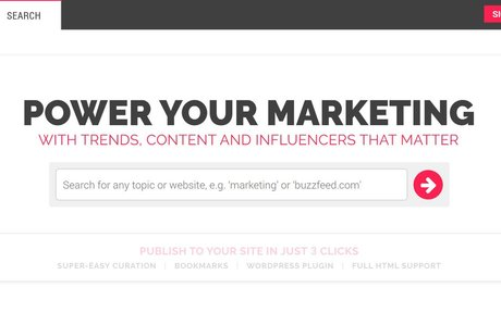 EpicBeat: Find trends, content & influencers that matter