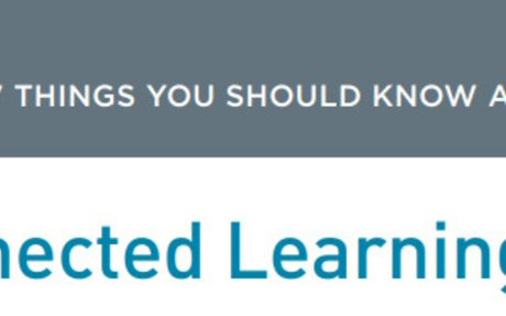 7 things you should know about connected learning