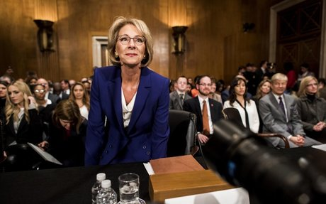 Betsy DeVos, Trump's education pick, lauded as bold reformer, called unfit for job