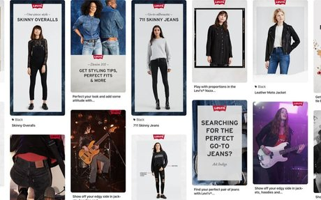 BRAND HIGHLIGHTS // Pinterest links up with Levi's on personal styling tool