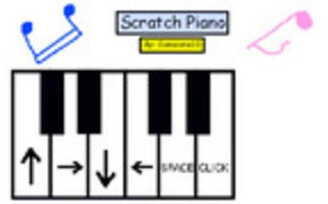 Scratch - MaKey MaKey Piano Remix