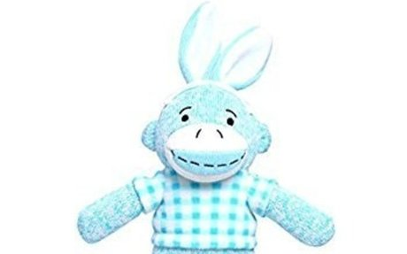 Amazon.com: Sock Monkey Stuffed Animal Dolls Handmade Stuffed Animal Sock Monkey Plush Toy
