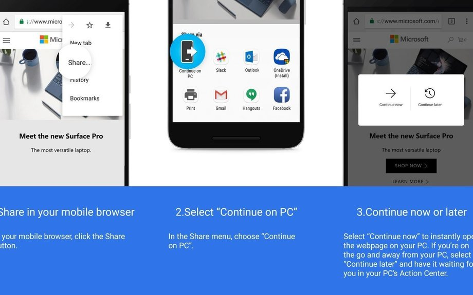Windows 10's latest preview links an Android phone to a PC