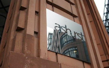 Women at Ashurst receive 60% less in bonuses than men