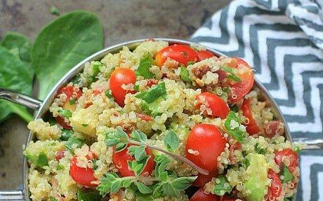 BLT & Avocado Quinoa Salad