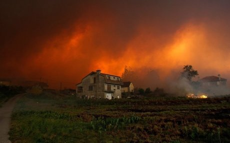 Deadly Fires in Portugal