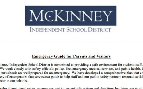MISD Emergency Guide for Parents and Visitors