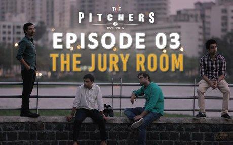 TVF Pitchers   S01E03 - 'The Jury Room'   E04-E05 now streaming on TVFPlay (App/Website)