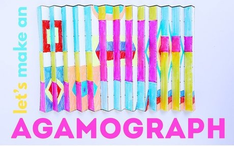 Math Art Idea: How to Make an Agamograph