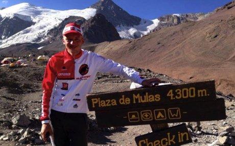 Nouveau record d'ascension de l'Aconcagua pour Karl Egloff!