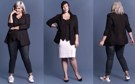 Plus Size Fashion Find of The Day: Garamond Vested Blazer From Universal Standard