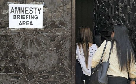 Embassies are taken aback by amnesty seeker numbers as officials question how many 'touris