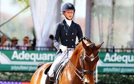 Dressage: Laura Graves & Verdades Post 2nd Straight 80% To Win AGDF World Cup Grand Prix