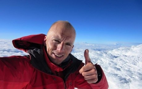 Hoy se cumple un año del récord de Karl Egloff en el Aconcagua