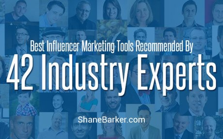 The Best Influencer Marketing Tools of 42 Industry Experts - Shane Barker