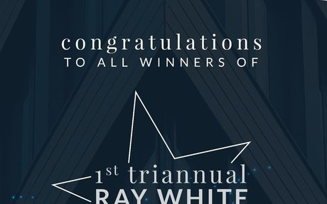 "Congratulations to all ""1st Triannual Ray White Awards 2018"" winners!"