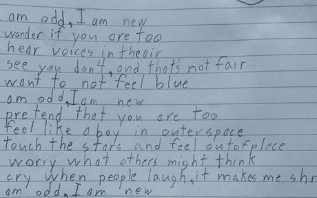 Boy with autism's beautiful and personal poem goes viral