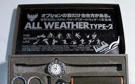 Orient 'All Weather' quartz