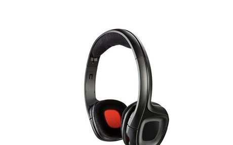 Headphones with Microphone Plantronics 222556 40 mm Black Red