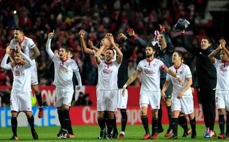 UCL: Sevilla manage 2-1 win over Leicester City