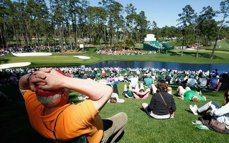 THE 15 PATRONS YOU MEET AT AUGUSTA NATIONAL