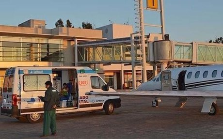 TucumanHoy - Dos niñas fueron trasladadas en el avión sanitario de la provincia