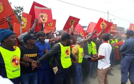 South Africa: Workers Protest Against Labour Exploitation by Indian Owned Fortune Steel |
