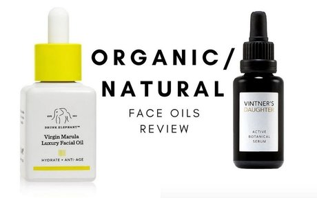 ORGANIC/NATURAL FACIAL OILS REVIEW