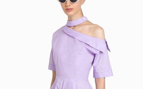 NEW PIXIE MARKET WOMENS KIKO LIGHT PURPLE CHOKER DRESS  | eBay