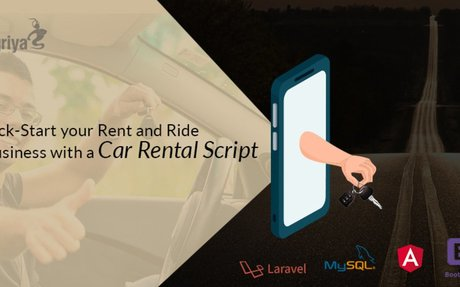 Kick-Start your Rent&Ride Business with a Car Rental Script