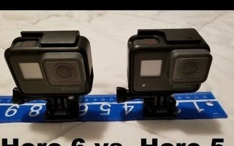 GoPro Hero 5 vs. 6 Comparison real-time