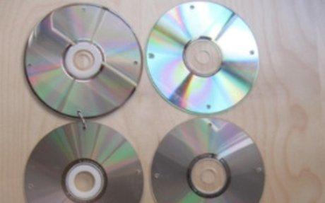 MAKE A CD Curtain