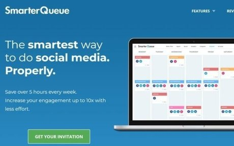 SmarterQueue works with your favourite social networks Schedule your posts, analyse compet